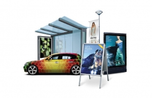 HP Latex - scratch resistant outdoor vinyl and signage