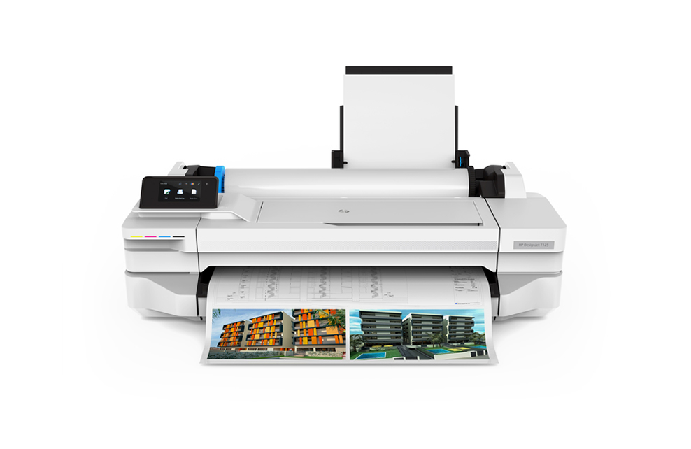 HP DesignJet T100 CAD Printer