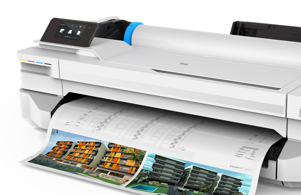 CAD & GIS wide format large format plotters printers