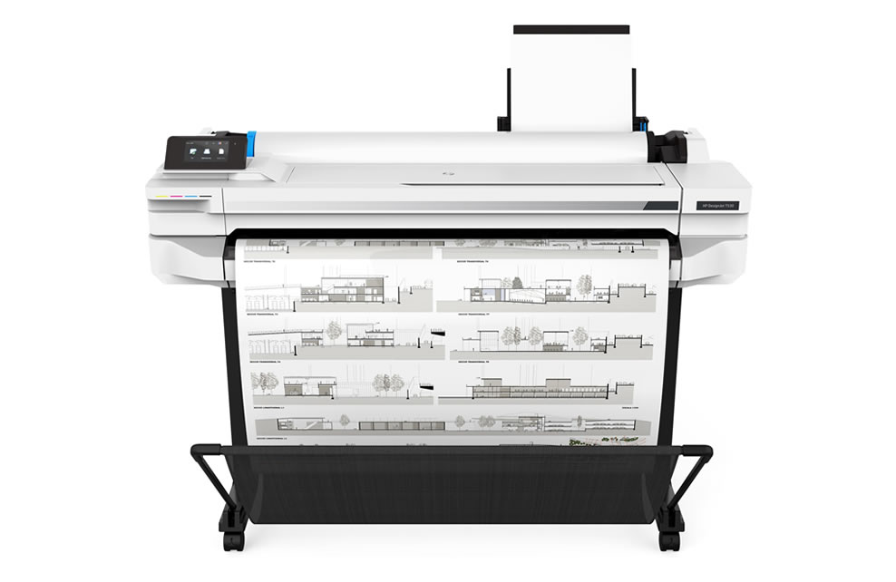 HP DesignJet T530 CAD Printer
