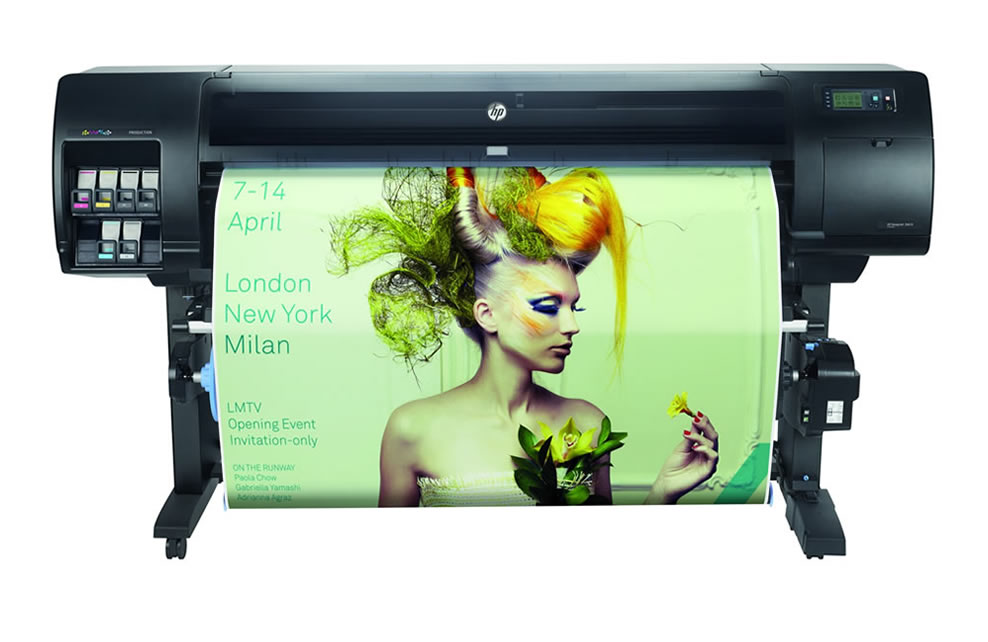HP Designjet Z6610, 60inch, large wide format graphics printer, indoor print applications, vinyl, canvas, banner, wallpaper, signage, photography, fine art