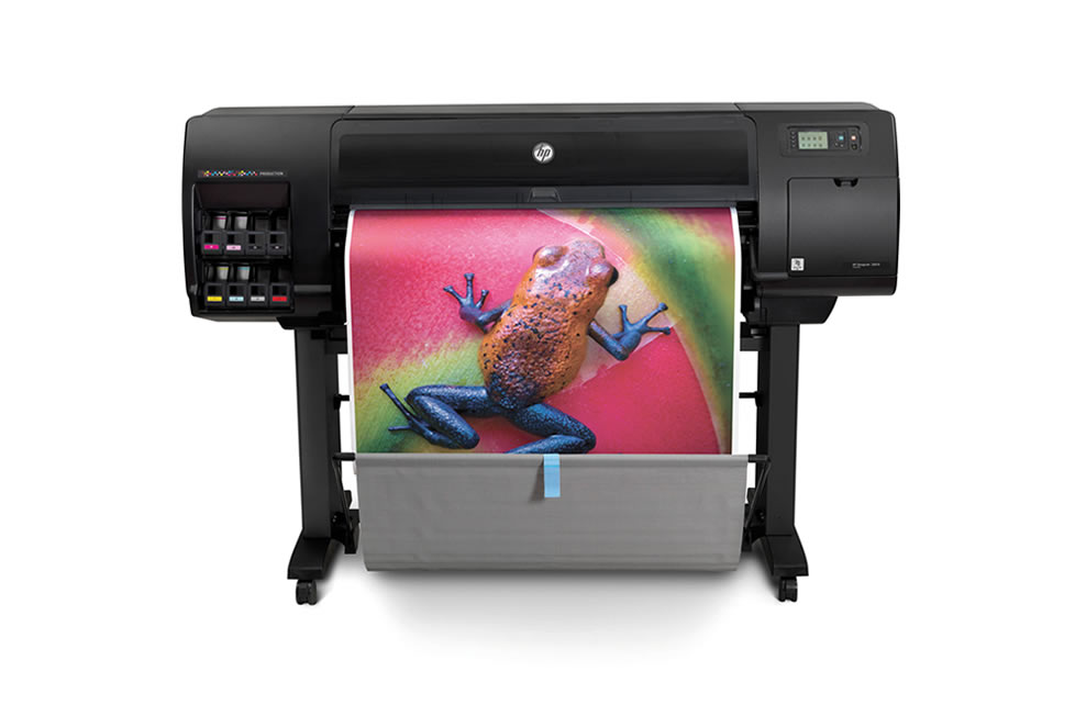 HP Designjet Z6810, large wide format indoor print applications, vinyl, canvas, banner, wallpaper, signage, photography, fine art