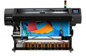 "HP Latex L570, 64""inch, large wide format latex printer cutter, outdoor print applications, vinyl, signage, solvent printer, banner, wallpaper, canvas"